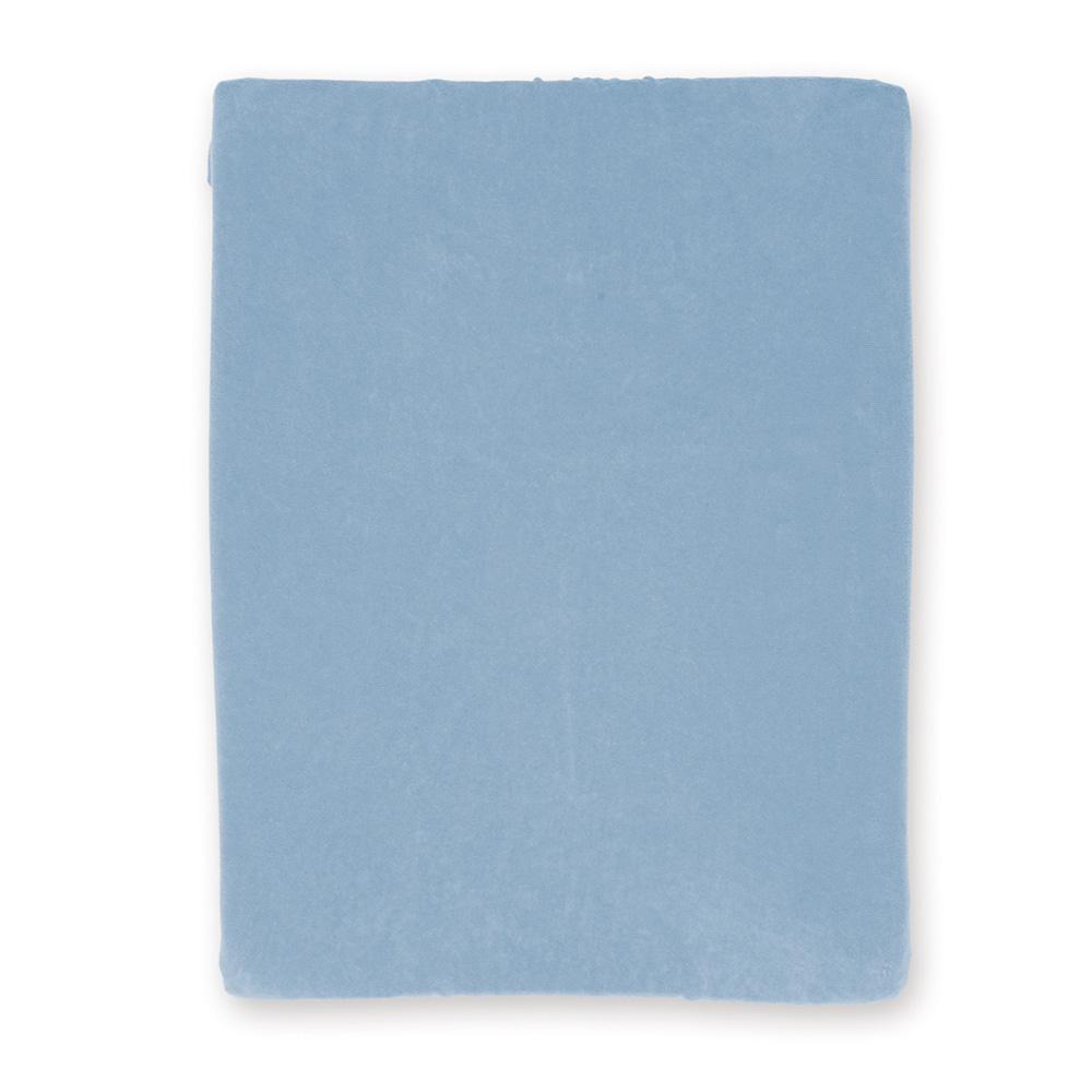 Housse pour matelas langer blue 5 sur allob b for Housse matelas a langer