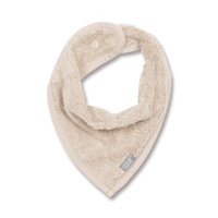 Bavoir bandana naturel