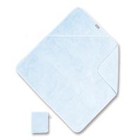 Sortie de bain 75x75cm bleu