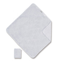 Sortie de bain 75x75cm gris clair