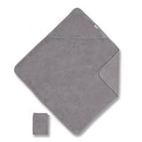 Sortie de bain 75x75cm gris