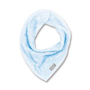 Bavoir bandana bleu