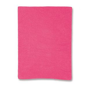 Housse pour matelas à langer rose