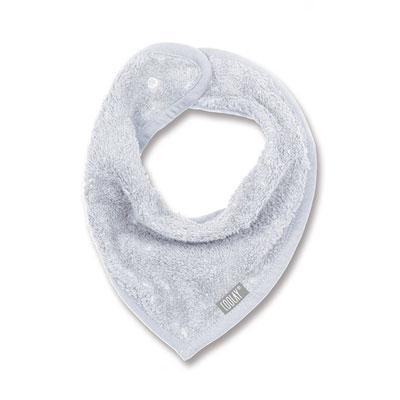 Bavoir bandana gris clair Coolay