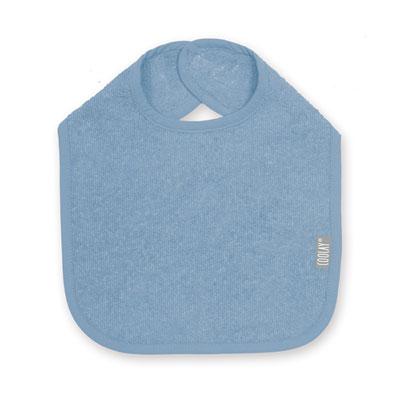 Bavoir 37cm blue Coolay
