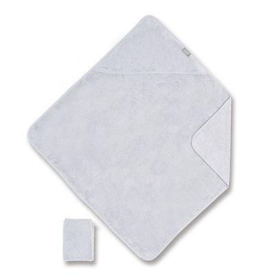 Sortie de bain 75x75cm gris clair Coolay