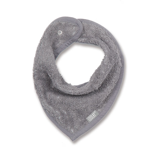 Bavoir bandana gris Coolay