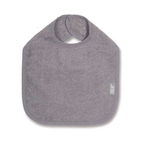 Bavoir 37cm gris Coolay