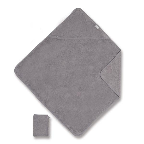 Sortie de bain 75x75cm gris Coolay