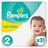 Couches premium new baby taille 2 (3-6 kg) 31 couches Pampers