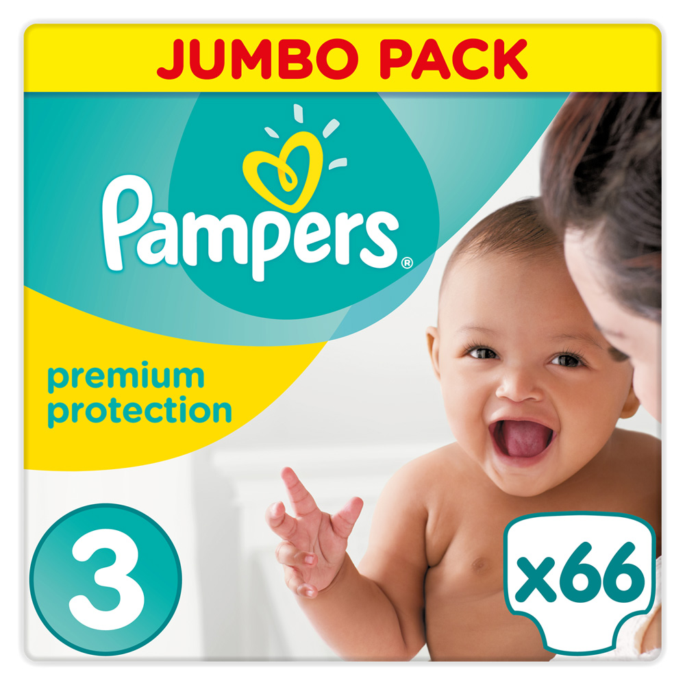 Couches premium new baby taille 3 5 9 kg 66 couches de pampers sur allob b - Couches pampers naissance ...