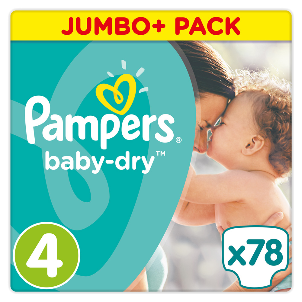Couches baby dry taille 4 8 16 kg 78 couches de pampers sur allob b - Couches pampers naissance ...