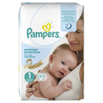 Couches new baby sensitive taille 1 geant (2-5 kg) 37 couches