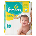 Couches premium new baby sensitive taille 2 (3-6 kg) 240 couches