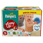 Mega pack 75 couches easy up pants junior t5 (12/18 kg) pas cher
