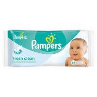 Lingettes bébé fresh clean - 64 pièces