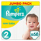 Couches premium new baby taille 2 (3-6 kg) 68 couches Pampers