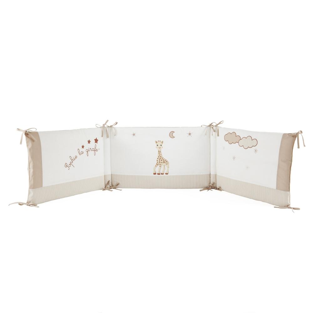 babycalin tour de lit b b sophie la girafe. Black Bedroom Furniture Sets. Home Design Ideas