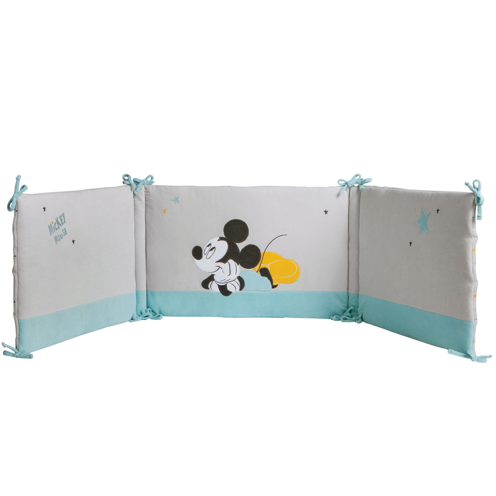 tour de lit mickey my story de babycalin en vente chez cdm. Black Bedroom Furniture Sets. Home Design Ideas