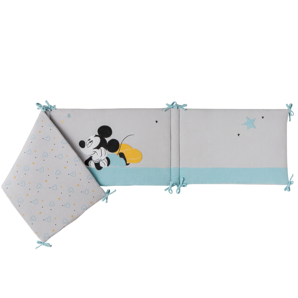 tour de lit mickey my story de babycalin. Black Bedroom Furniture Sets. Home Design Ideas