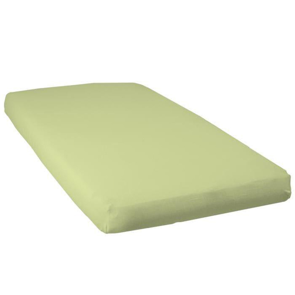 drap housse b b jersey 60 x 120 cm vert de babycalin chez. Black Bedroom Furniture Sets. Home Design Ideas
