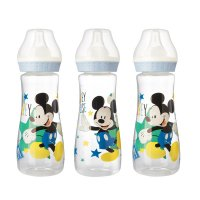 Lot de 3 biberons 250 ml mickey bloom