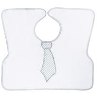 Bavoir 2ème âge imprimé cravate