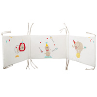Tour de lit bébé circus