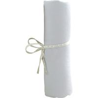 Drap housse bebe 40 x 80 cm blanc