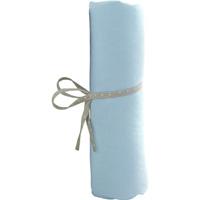 Drap housse bebe 60x120cm bleu
