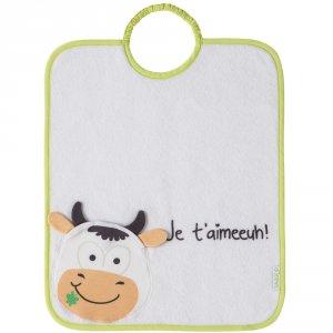 Bavoir 2 eme âge bagolo vache