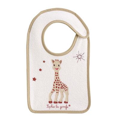 Babycalin Bavoir bébé naissance sophie la girafe