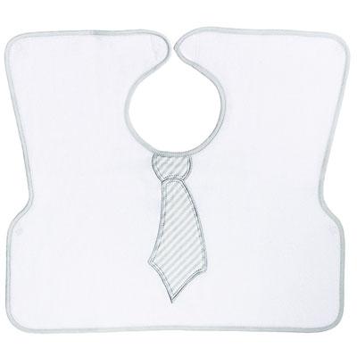 Babycalin Bavoir 2ème âge imprimé cravate