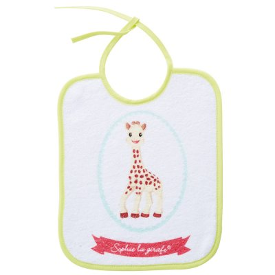 Lot de 7 bavoirs naissance sophie la girafe Babycalin