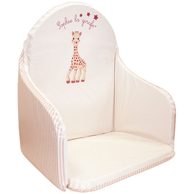 Coussin de chaise sophie la girafe Babycalin