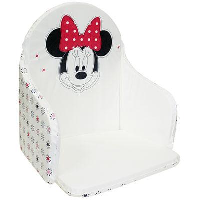 Coussin de chaise imprimé minnie Babycalin