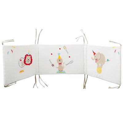 Tour de lit bébé circus Babycalin