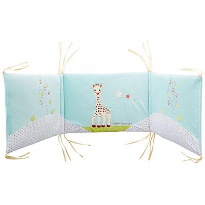 Tour de lit bébé sophie la girafe Babycalin