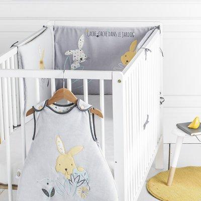 Tour de lit lapin cache-cache Babycalin