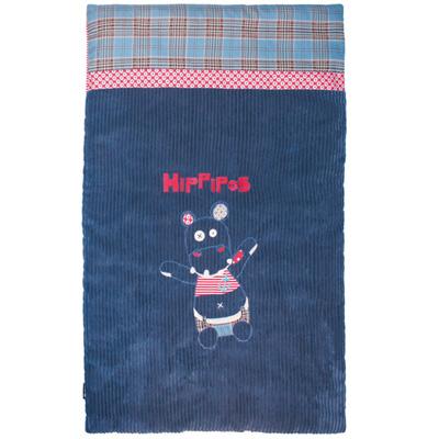Edredon bébé l'hippopotame hippipos Les deglingos