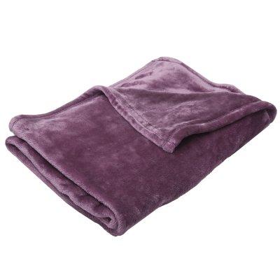 Couverture bébé 100x150cm violet Babycalin