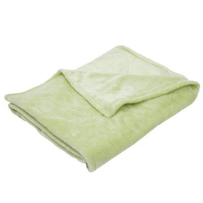Couverture bébé 75 x 100 cm vert anis Babycalin