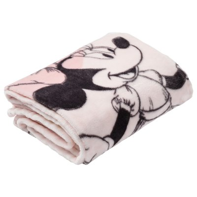 Couverture 100 x 140 cm minnie floral Babycalin