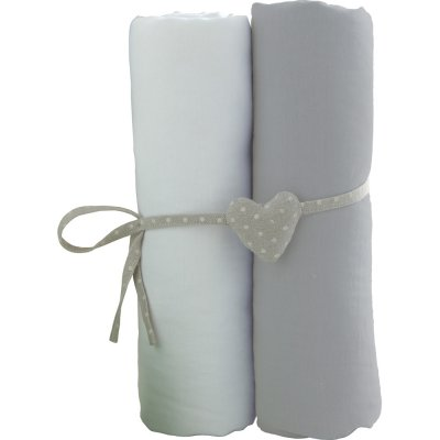 Lot de 2 draps housse 60x120cm Babycalin