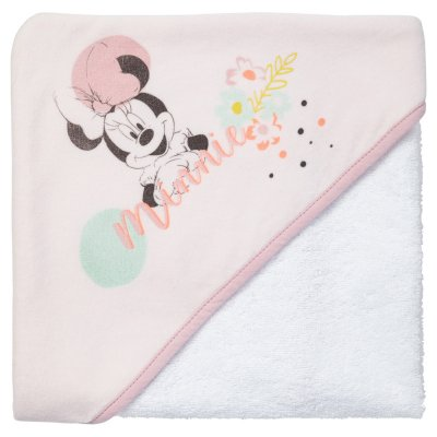 Sortie de bain bébé minnie floral Babycalin