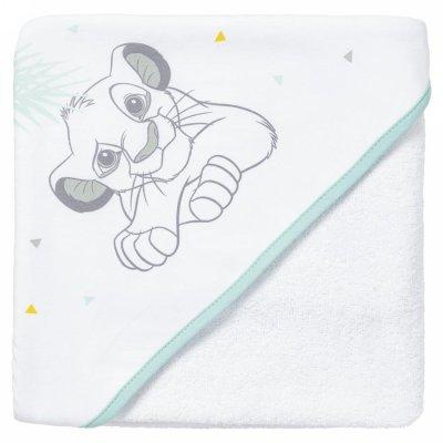 Sortie de bain bébé le roi lion Babycalin