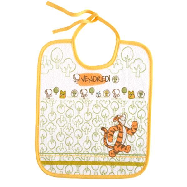 Lot de 7 bavoirs doodle craft winnie Babycalin