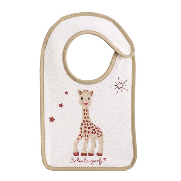 Bavoir bébé naissance sophie la girafe Babycalin