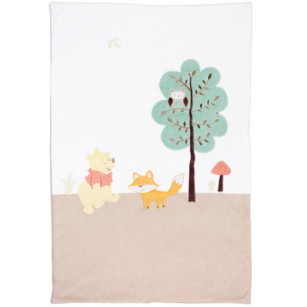 Couverture bébé 80 x 120 cm winnie whimsy Babycalin