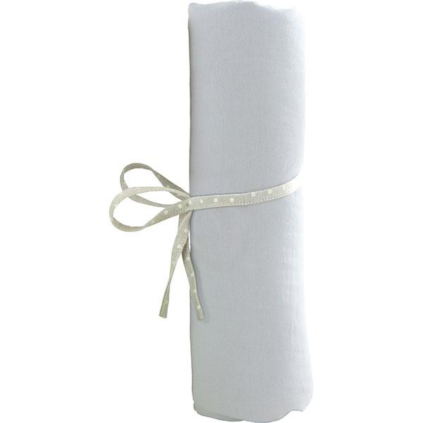 Drap housse bebe 40 x 80 cm blanc 5 sur allob b for Drap housse 40 x 90